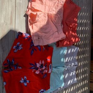 Size 0 shorts